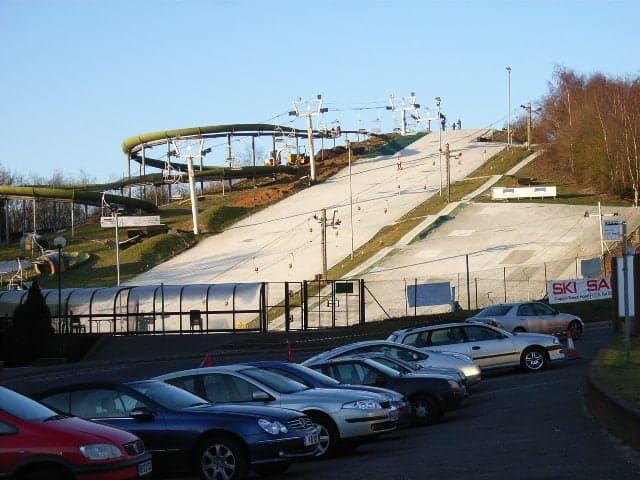 Bracknell ski centre 247 airport ride
