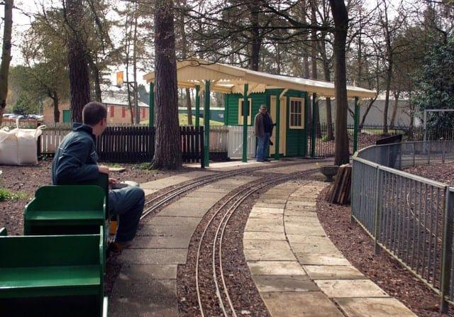 Pinewood miniature railway 247 airport ride