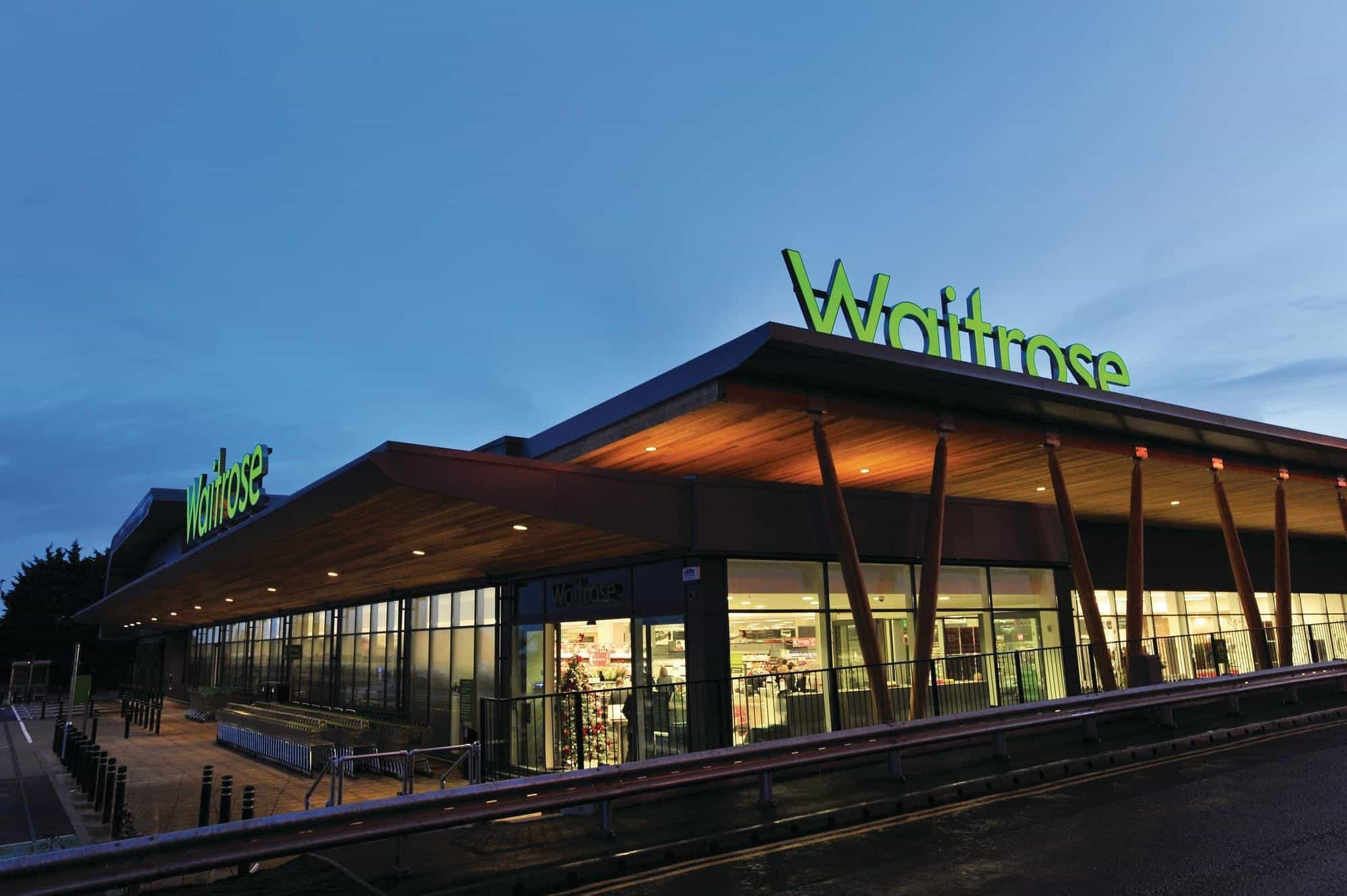 shopping at waitrose bracknell - 247 airport ride