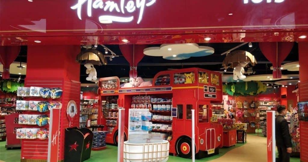 Hamleys shop heathrow - 247 airport ride
