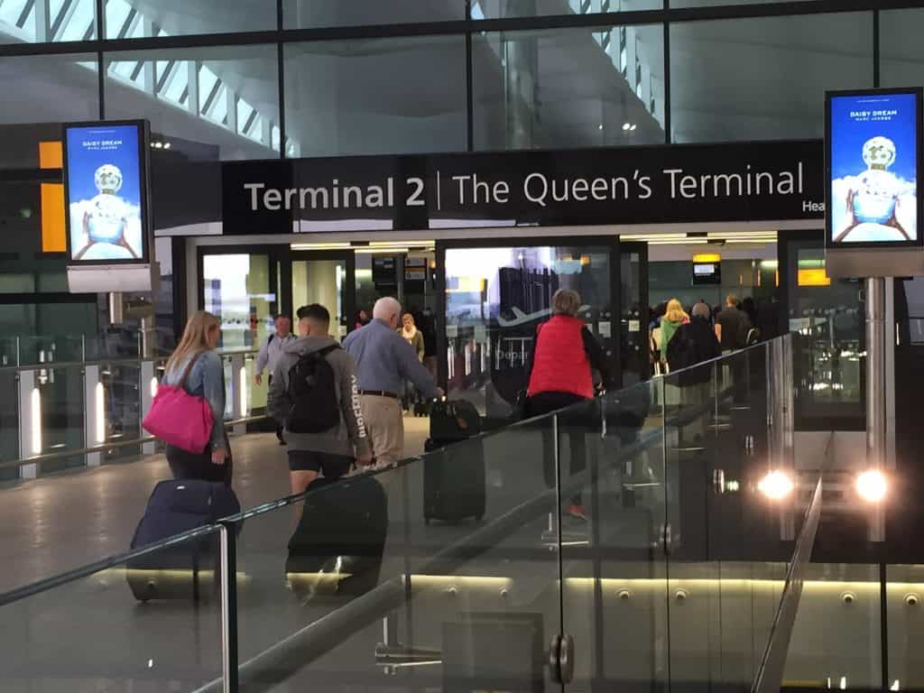 heathrow Terminal 2 - 247 airport ride